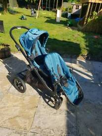Pushchair/ double buggy baby jogger city select
