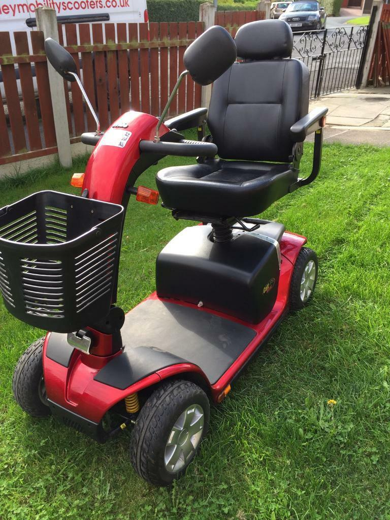 PRIDE COLT DELUXE 6.25 MPH TRANSPORTABLE MOBILITY SCOOTER