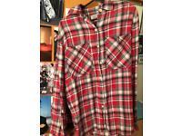 Ralph Lauren Red Checkered Shirt size XS (6-8)