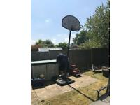 Basketball Hoop and Stand