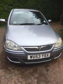 Vauxhall Corsa Design CDTi 1.3 diesel 2003 Silver 3 door A/C 105,500 miles