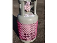 R410A Refrigerant Air Con Gas 11Kg including Refillable Cylinder