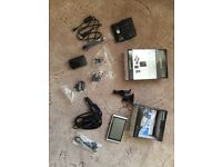Garmin Nuvi 1340 and Travel Pack including lifetime maps for sale.