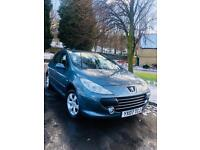2007 DIESEL PEUGEOT 307 HDI 1.6Litre, COMES WITH MARCH 2019 MOT, SERVICE HISTORY