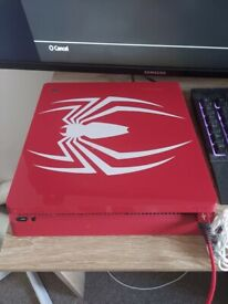 1tb limited edition ps4 spiderman with games