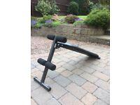 Pro fit adjustable decline bench
