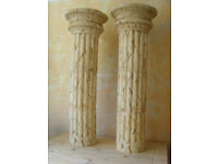 Roman Style Column Pedestal Sculpture Stand Plant Holder - FREE DELIVERY
