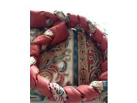 Curtains two pairs 54 inches length 80 inches across each curtain x 4 curtains .