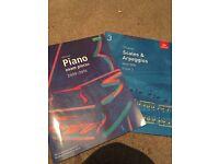 Grade 1 and 3 piano sheet music