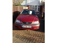 TOYOTA AVENSIS GS VVT-1 AUTOMATIC 1.8 2001 WITH SERVIC HISTORY £550