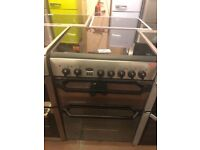 60CM STAINLESS STEEL INDESIT MIRROR LOOK ELECTRIC COOKER