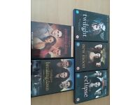 Bundle twilight dvd books