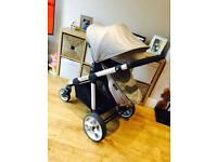 I candy pram package and maxicosi pebble car seat