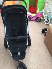 quinny buzz 3 with footmuff and raincover
