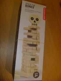 Stack the bones Jenga style stacking game