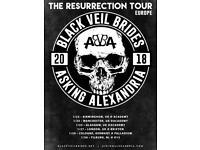 Black veil Brides and Asking Alexandria Ticket Birmingham