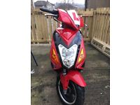125cc scooter/moped {zennco}