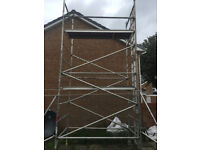 boss youngman evolution ladderspan, scaffold tower