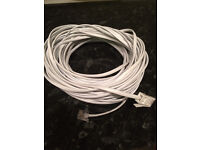 telephone / internet extension cable