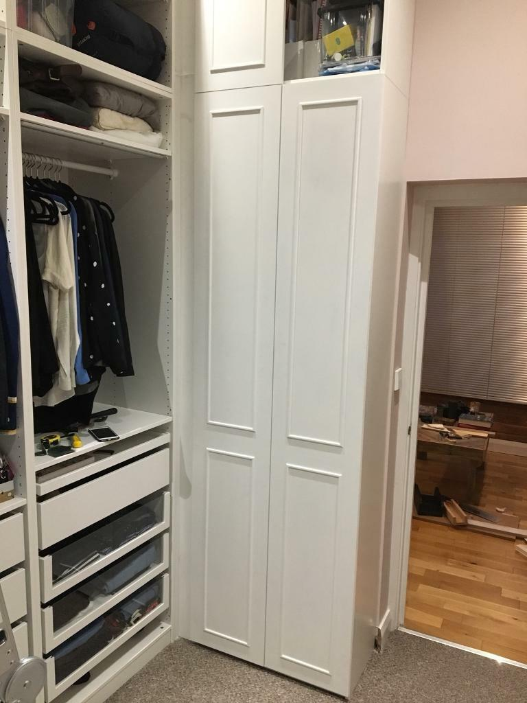 Ikea Pax Shallow Depth Wardrobe And Doors In Jewellery