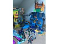 Ninja Turtle Secret Sewer Lair with Sounds & Box
