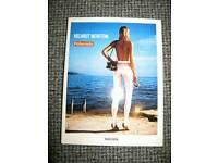 Helmut Newton photo book