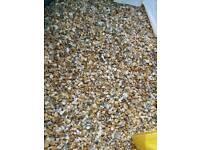 3x tonne bulk bags 10mm shingle