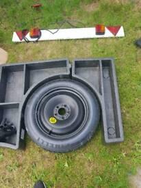 Focus 2008 spare wheel