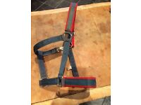 Bucas nylon pony head collar,