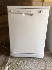 Immaculate White Russell Hobbs Dishwasher