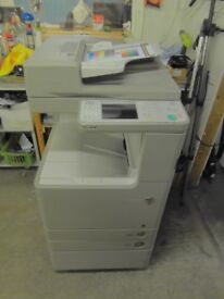 Canon IRC Advanced C2020i A3 A4 Colour & B/W photocopier printer scanner very low page count