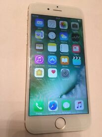 Apple Iphone 6 126gb unlocked all networks faulty