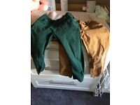 Next boys chino style trousers age 4-5 years