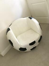 Children's football chair