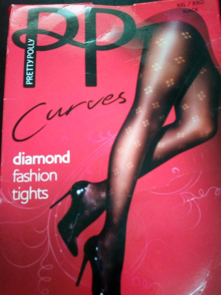 d580ed6b2 Xxl diamond tights pretty polly