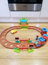 Happyland Train Set with Figure