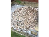 Sub base aggregate free to collect