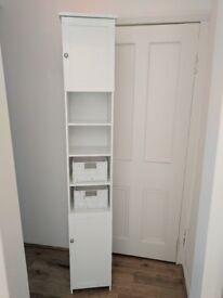 Tall Bathroom Cabinet £40