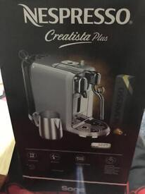 Nespresso Creatista Plus Coffee Machine *Sealed*