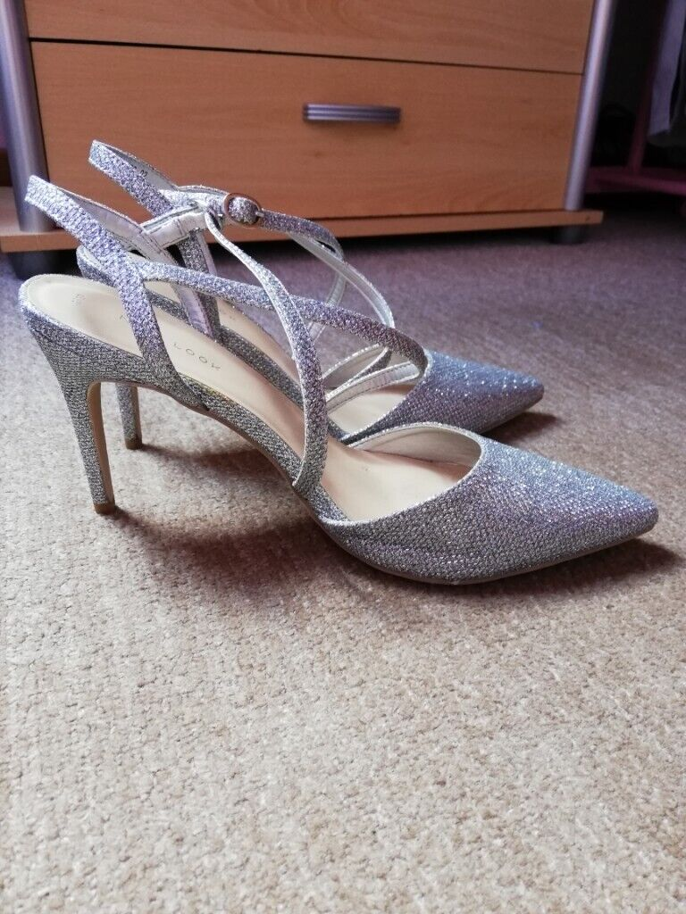 cdce29eb3f4f Silver High Heels | in Oldmeldrum, Aberdeenshire | Gumtree