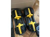 Everlast adjustable weights