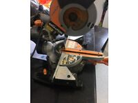 evolution chop saw 110v