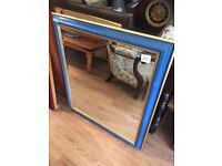 Mirror ,rectangular size W 30 in H 36 in £30 each mirror Also rectangular mirror at £30 each