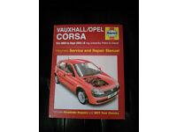 Vauxhall Corsa Hayne's Manual