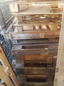 Free Pallets ready for collection
