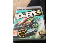 Dirt PS3 game