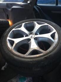 """Ford 18"""" alloy wheels 5x108"""