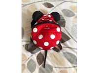 LittleLife Red Minnie Mouse Rein Bag