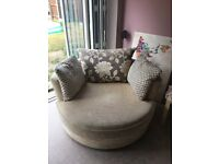 Large Swivel/Cuddle Chair