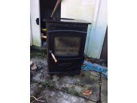 Aarrow Eco burn 7 mutifuel stove plus flue